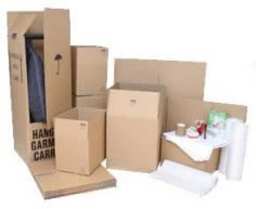 Free boxes for Bristol local moving removals