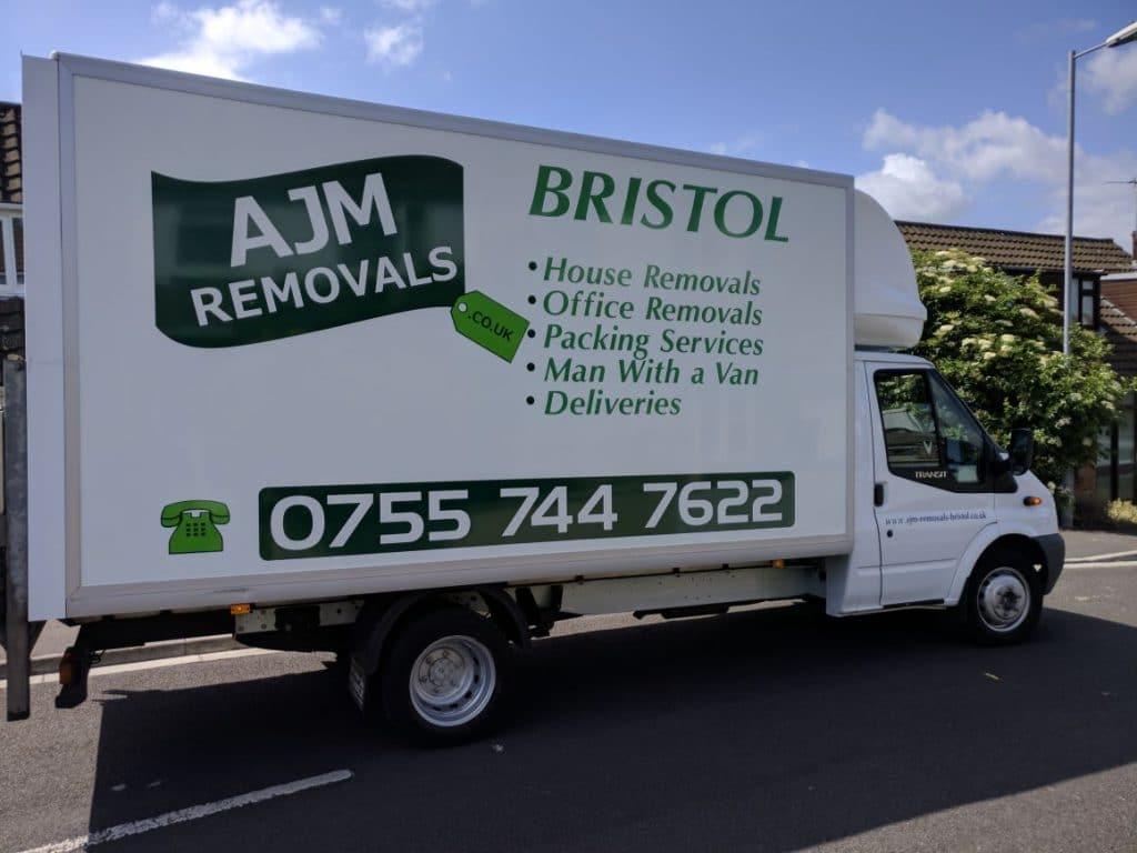 Luton van used on Bristol house move