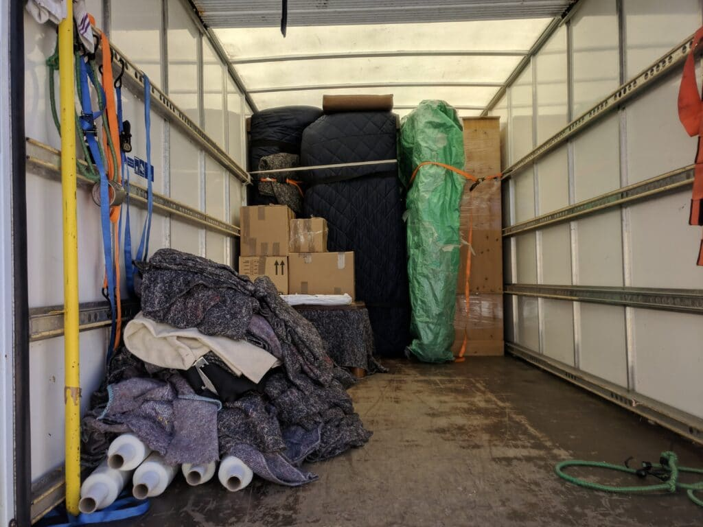 Protective materials on moving house Bristol