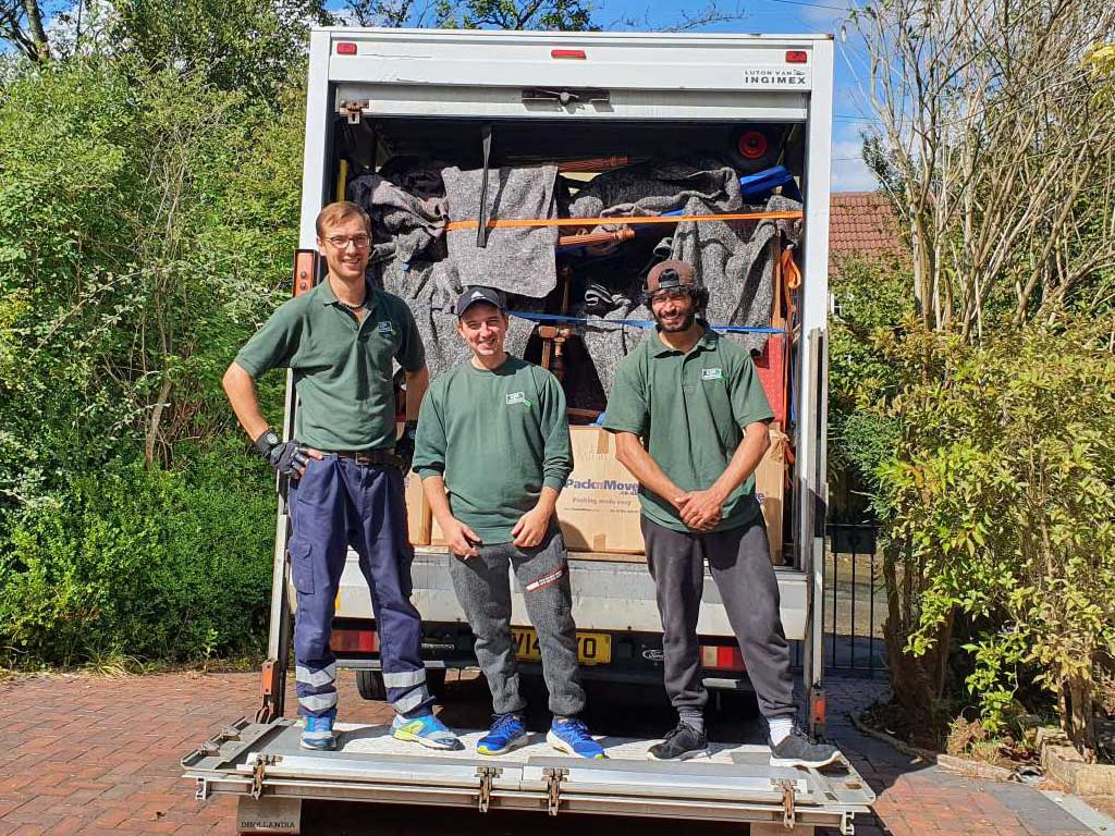 Our Bristol Moving Team